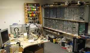 Part of the Hardware Lab