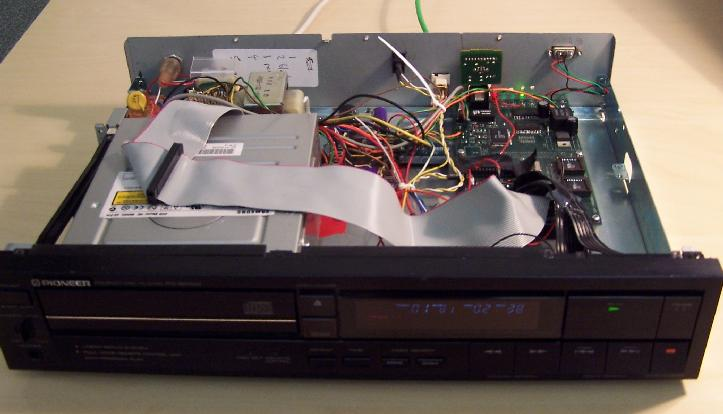 Pebbles/Autohan CD Player : An Embedded Platform for ... on
