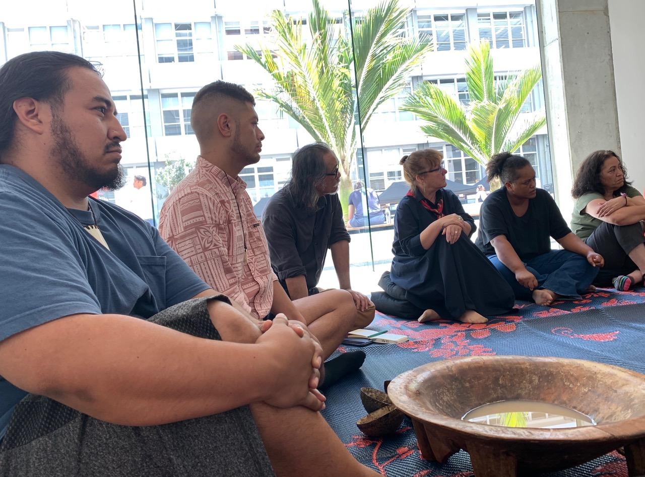Talanoa and kava ceremony with Daniel Hernandez, Eric Soakai, Mairi Gunn, Nooroa Tapuni and Layne Waerea
