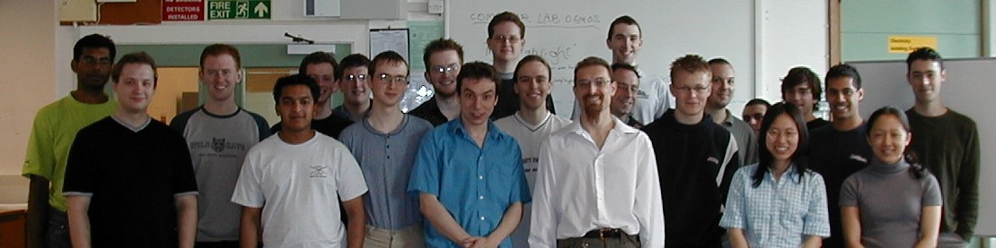 ARM project participants, Easter Term 2002